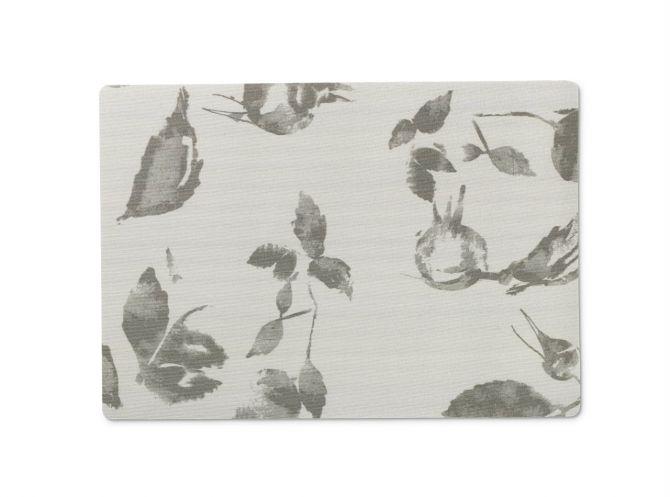 JUNA von Rosendahl Tischset Platzset Hiprose Grau Acrylbeschichtet mit Schaumunterlage. Skandinavisches Design, Tischdekoration und Heimtextilien bei nicenordic.de
